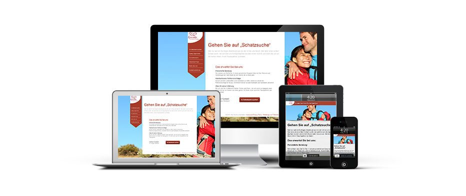 Partner50Plus Webseite